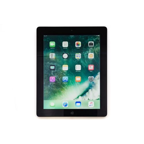 "Apple iPad 4 9.7"", MD516LL/A, Space Gray/Black, 1.4GHz/1GB/16GB Flash (Refurbis"