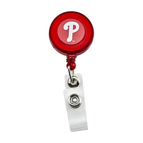 Philadelphia Phillies Retractable Badge Reel Id Ticket Clip MLB Red