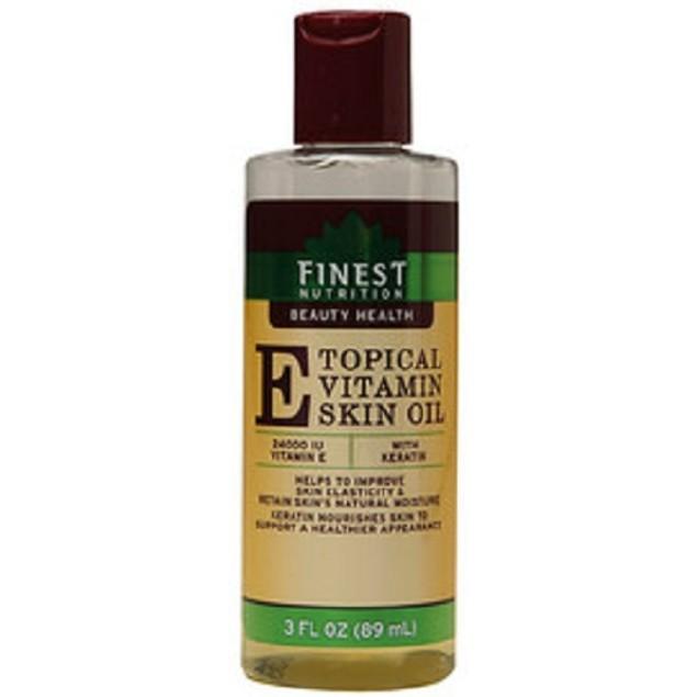 Finest Nutrition Topical Vitamin E Skin Oil