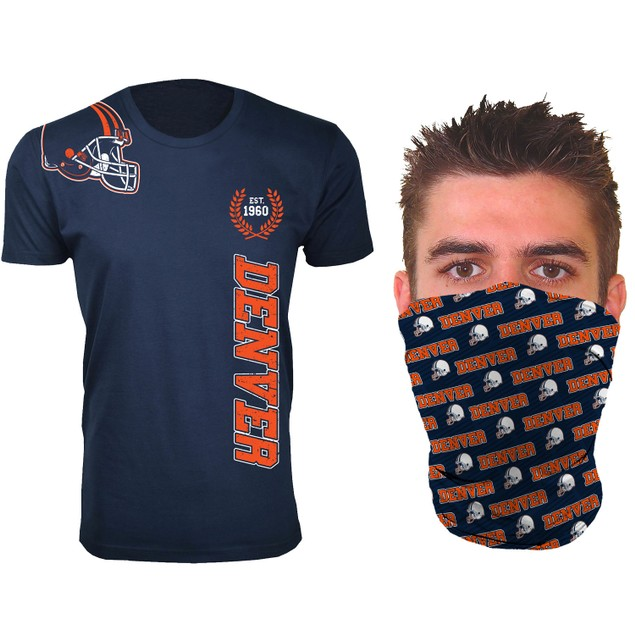 Men's Football Home Team T-Shirts with Gaiter