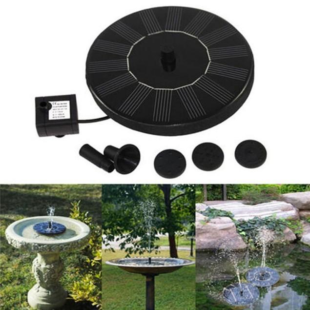 Solar Powered Fountain Pump (Watch the Video)