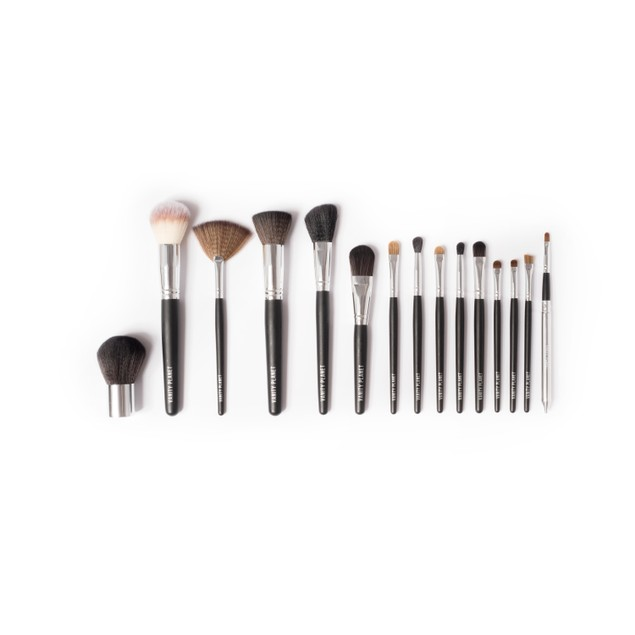 Palette: 15 Piece Vanity Planet Professional Make-up Brush Set