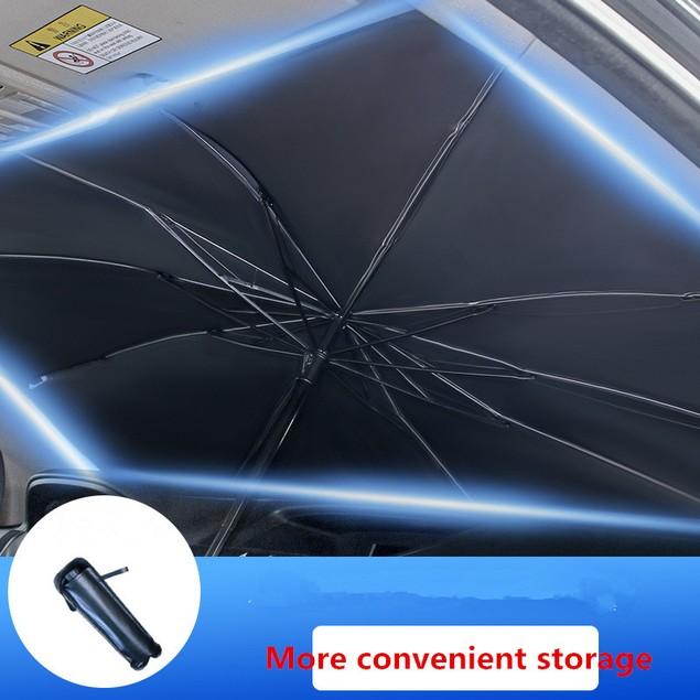 Car Sunshade, Sunscreen, Heat-insulating Umbrella, Windshield Sunshade
