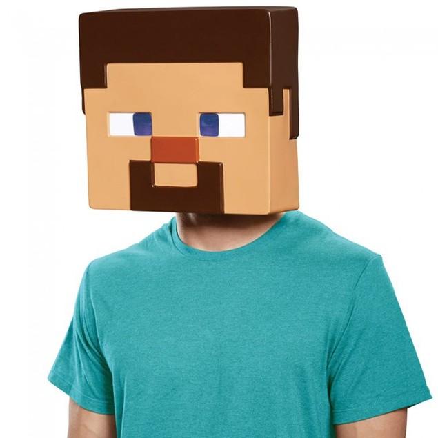 Steve Adult Mask Minecraft  Mine Craft Costume Halloween Gift Accessory