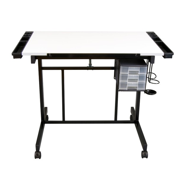 Studio Designs Deluxe Craft Station - Black/White