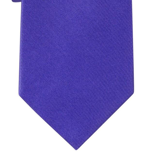 Michael Kors Men's Sapphire Solid Ii Tie Blue One Size Blue Size Regular