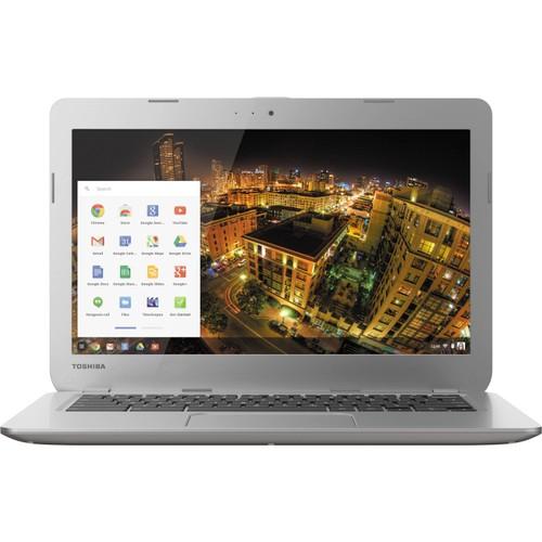 "Toshiba Chromebook PLM01U-008005 13.3"" 16GB,Silver (Refurbished)"