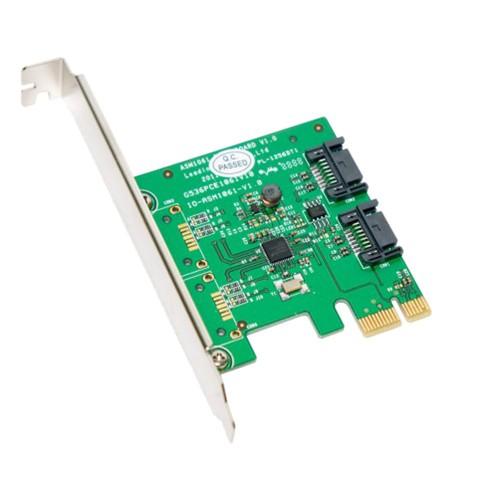 2 Port SATA III PCI-e 2.0 x1 Card