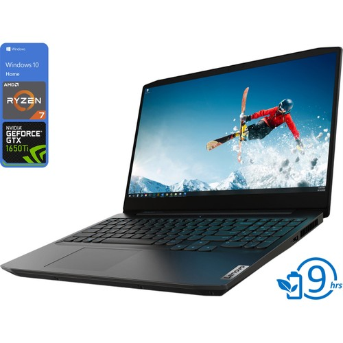 "Lenovo IdeaPad 3, 15"" 120Hz, Ryzen 7 4800H, 8GB, 512GB, 1650, Windows"