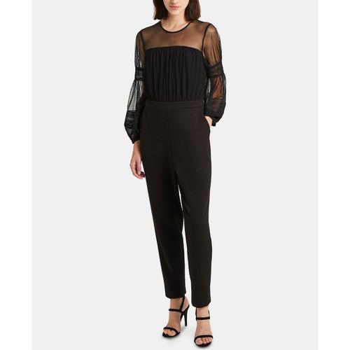 French Connection Women's Paulette Jumpsuit Black Size 4
