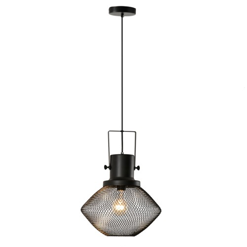 Metal Hanging Ceiling Lamp Fixture w/ Adjustable Length Chain & Strong Base