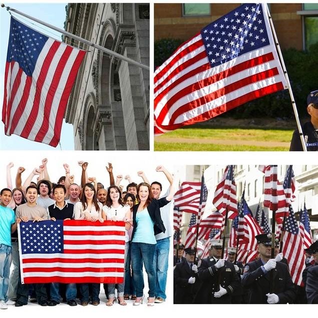 35 X 59 Inch American Flag