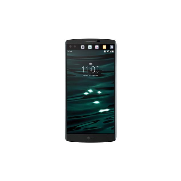 LG V10, T-Mobile, Grade B-, Black, 64 GB, 5.7 in Screen