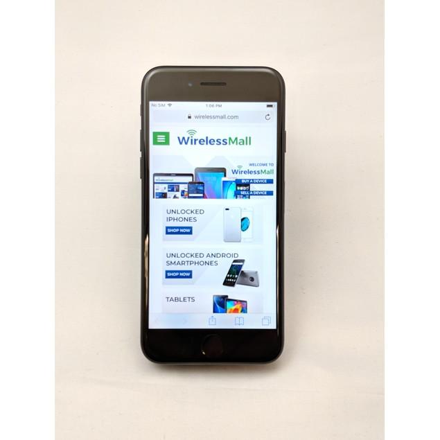 Apple iPhone 7 Unlocked LTE Smartphone - 256GB - Matte Black