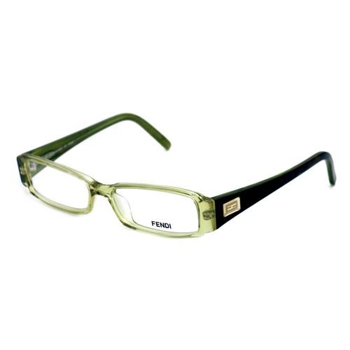 Fendi Eyeglasses Women Clear Green Full Rim Rectangle 50 14 135 F891 315