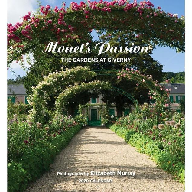 Monets Passion Wall Calendar, Gardens by Calendars