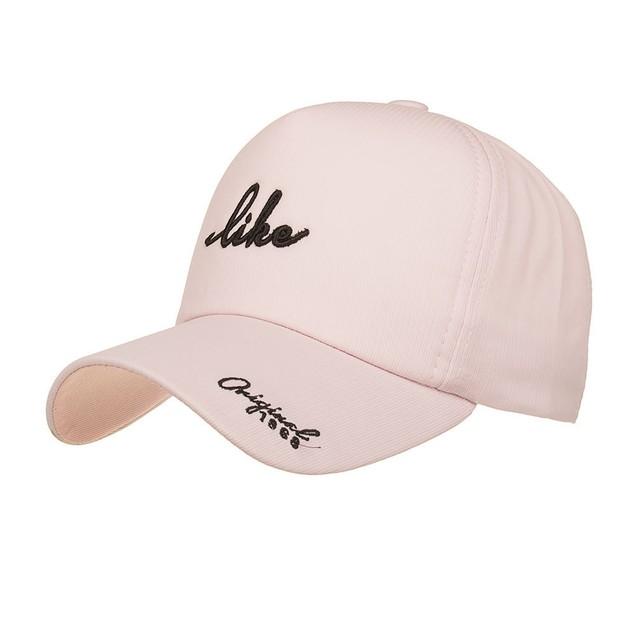 Men Women Adjustable Baseball Sunscreen Cap Snapback Hip-Hop Hat Unisex Cap