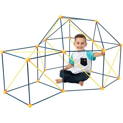 Fort Building Construction Kit for Kids - 72 Pieces