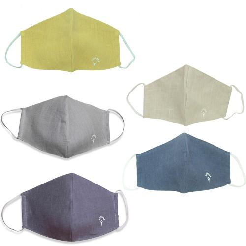 Organic Reusable Hemp Cotton Face Mask (5-Pack)