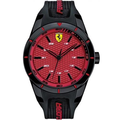 Ferrari Men's Redrev Red Dial Watch - 830248