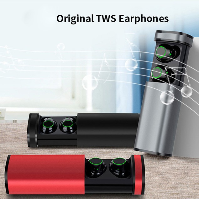 V5.0 Touch Earbuds with Charging Case