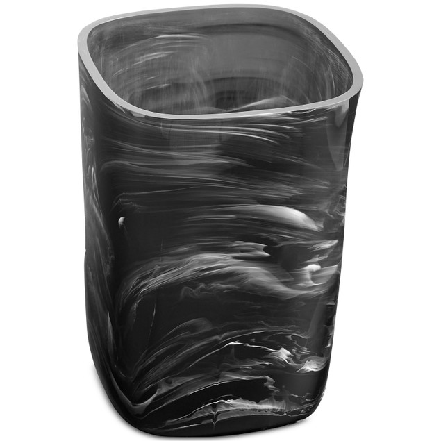 Paradigm Murano Wastebasket, Can Blend Beautifully into Any Bath Décor,