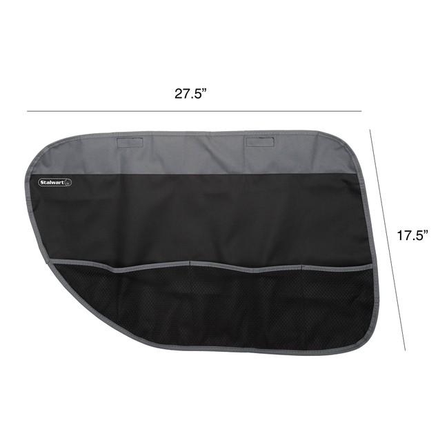 Pet Door Protector Set 2 Pack Black