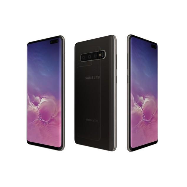 Samsung Galaxy S10, AT&T, Black, 512 GB, 6.1 in Screen