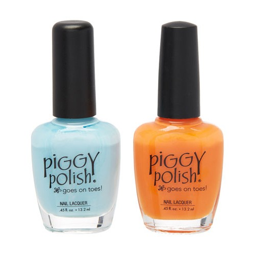 Piggy Polish 2 pk, It's All About Blue & Poppy Don't Preach