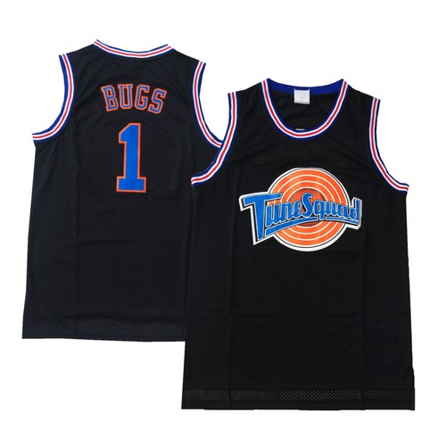 Bugs Bunny  #1 Tune Squad Black Jersey