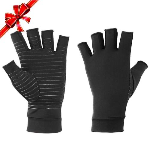 Arthritis Compression Gloves Copper Heal Rheumatoid Carpal Tunnel(Large)