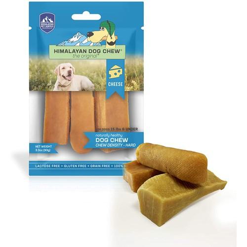 Himalayan Dog Chews 100% Natural, Small, 3.3 Oz., 3 Piece