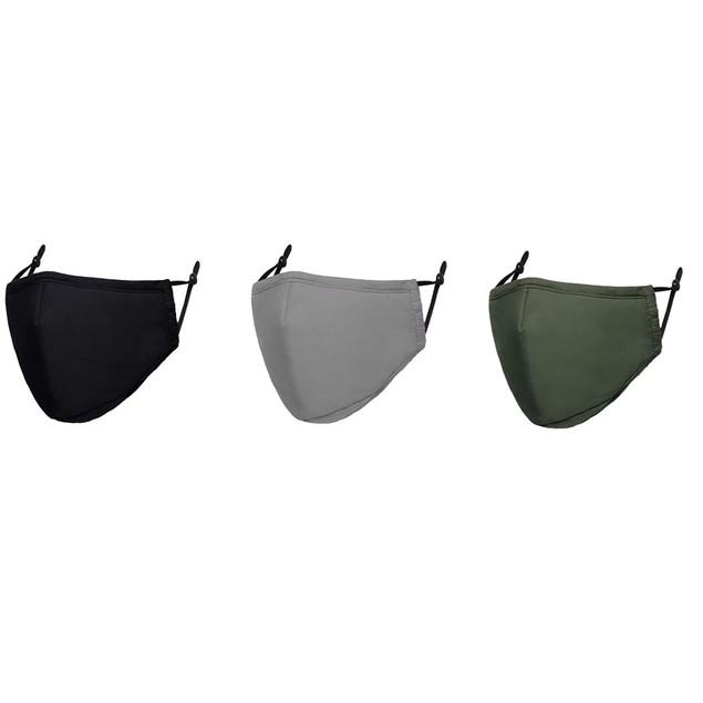 Men's Cotton Washable Face Mask (3-Pack)