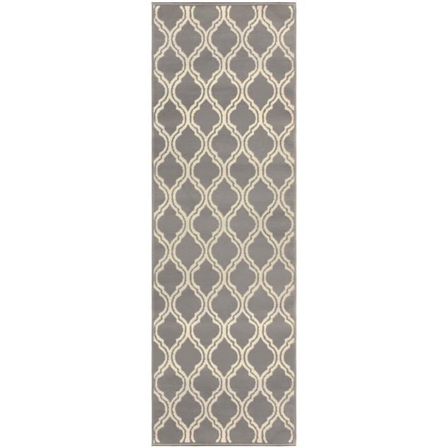 Elegant Double Trellis Area Rug Collection