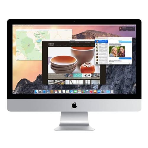 iMac 27 (5K) 4.0GHZ Quad Core i7 (2014) 16GB RAM-1TB HD-128GB SSD