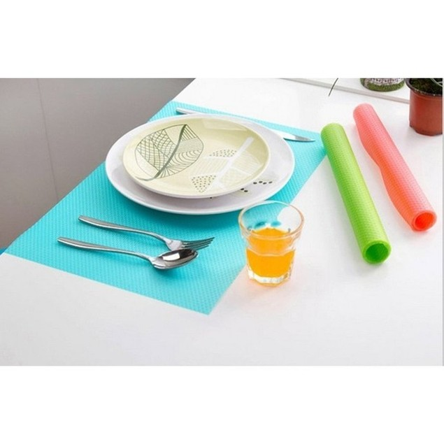 8-Pack Refrigerator Mats – Assorted Colors
