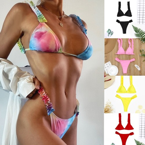 Women's Ruffled Sexy Swimsuit