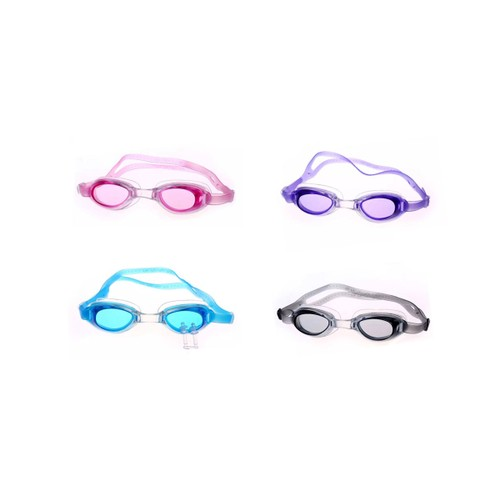 Swim Goggles with UV Protection - Black, Blue, Pink or Purple