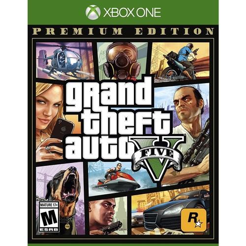 Grand Theft Auto V for Xbox One(New Open Box)