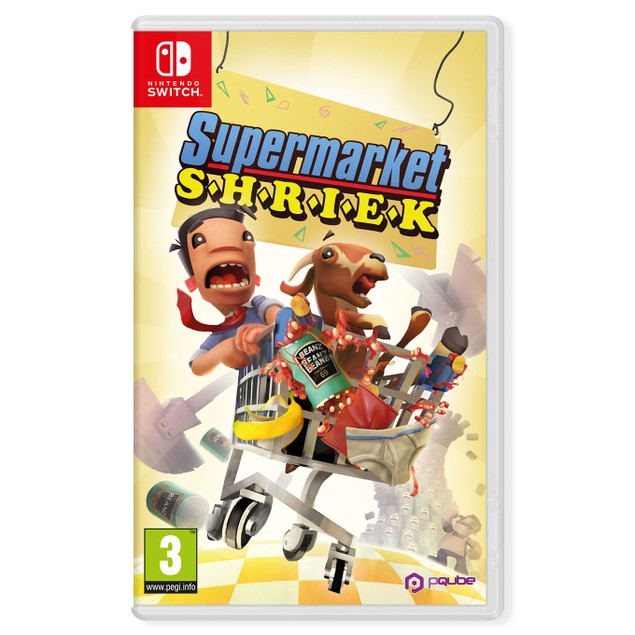 Supermarket Shriek Nintendo Switch Game