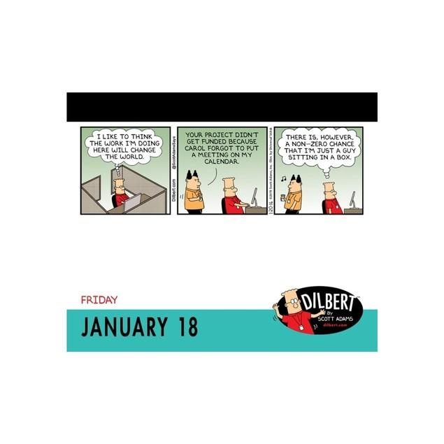 Dilbert Desk Calendar, Cartoons | Comics by Calendars