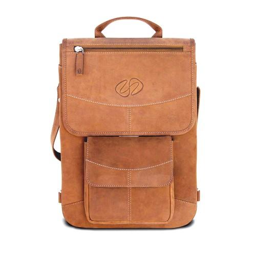 "MacCase Premium Leather 13"" MacBook Pro Flight Jacket - Vintage Brown"
