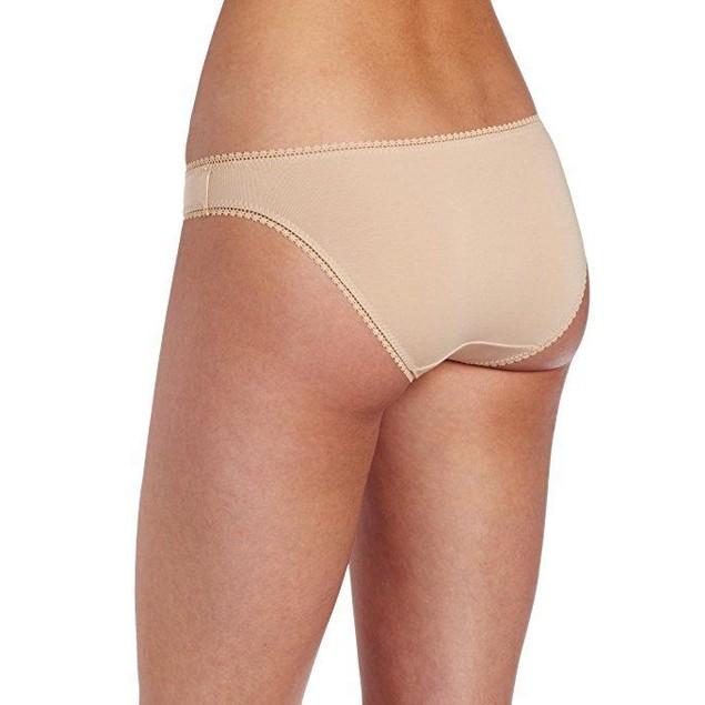 On Gossamer Women's Cabana Cotton Low -Rise Bikini Panty SZ: L