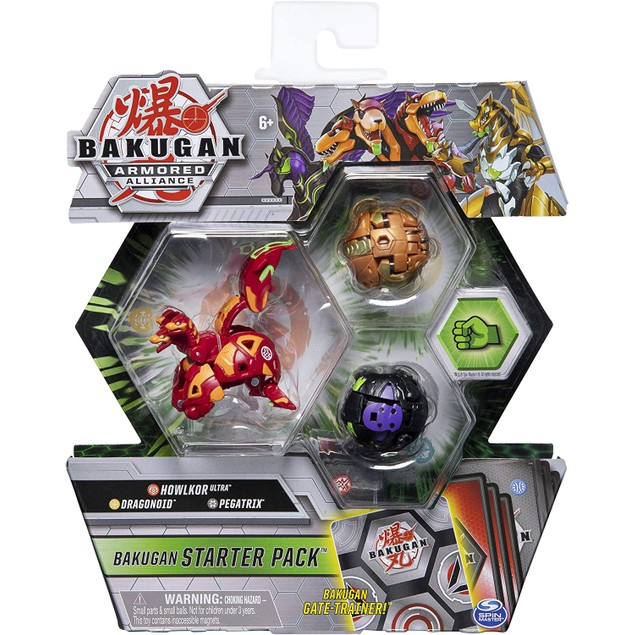 Bakugan Armored Alliance Collectible Action Figures (1 Random Supplied)