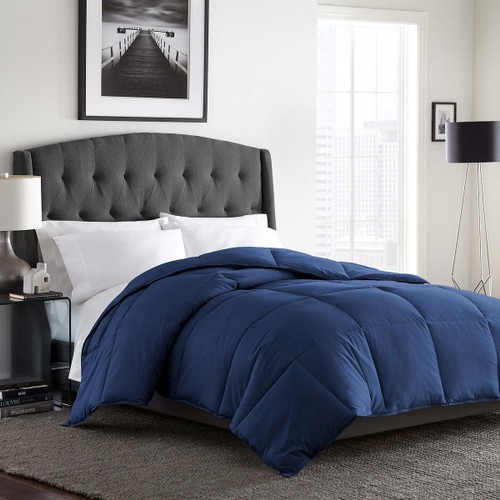 Bloomingdale's My Signature Down Alternative 300 TC Twin Comforter Blue