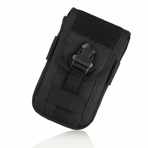 Universal Tactical Cell Phone Belt Pack Bag Pocket Molle Waist Pouch C