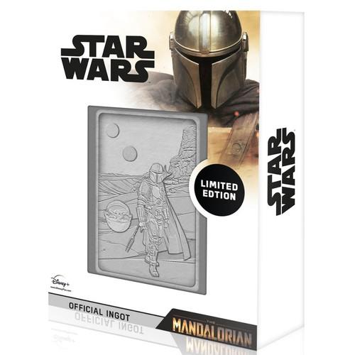 K-005 Mandalorian & Baby Yoda (The Mandalorian) Silver Limited Edition Coll