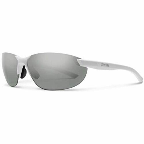Smith Sunglasses Parallel 2 6HT Platinum Polarized - Matte White