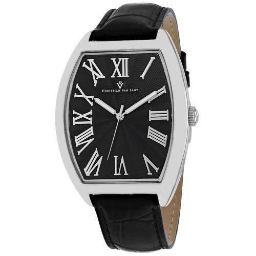 Christian Van Sant Men's Black Dial Watch - CV0271