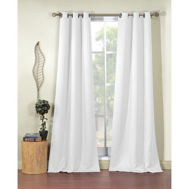 """Steyna 84"""" Thermal Blackout Window Curtains (Set of 2) - Assorted Colors"""